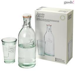 Vannkaraffel med glass