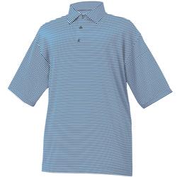 FootJoy ProDry Performance Lisle Feeder Stripe Shirt - Self Collar