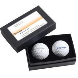 Titleist Standard 2-Ball Business Card Box