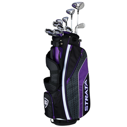 Strata Ultimate Ladies 16 Piece Golf Club Set