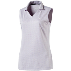 Puma Jacquard Sleeveless Polo