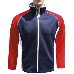 The Weather Company Men's Polyflex Red, White and Blue Jacket