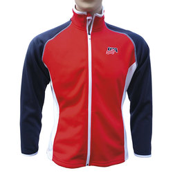 The Weather Company Ladies Poly-Flex Red/White/Blue Jacket