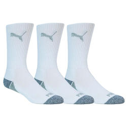 Puma Men's Pounce Crew Socks 3 Pair Pack