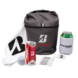 Bridgestone Custom Cart Cooler with Golf Balls