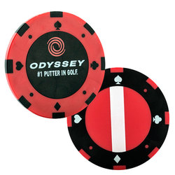 Callaway Odyssey Poker Chip Ball Markers