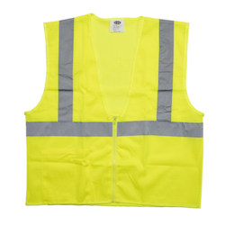 Economy Safety Vest - Zipper - Class 2