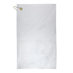 Subli-Plush Microfiber Velour Golf Towel 11 x 18