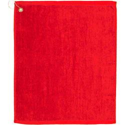 Premium Mid-Weight Velour Golf Towel 15 x 18