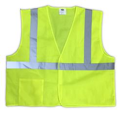 Economy Safety Vest - Class 2 - Velcro
