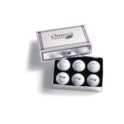Titleist/Pinnacle Packedge Custom Foil Half-Dozen with Sleeves or Foam