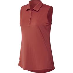 Adidas Ladies Ultimate Solid Sleeveless Polo