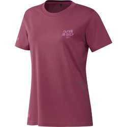 Adidas Ladies Viva La Golf Tee Shirt