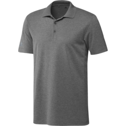 Adidas Heather Performance Polo Shirt