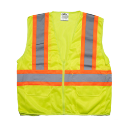 Mesh Safety Vest - DOT