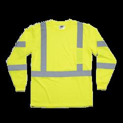 Premium Long Sleeve Birdseye Knit T-Shirt