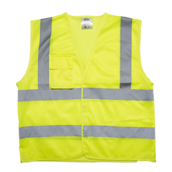 Mesh Vest with Velcro Closure Chest Pocket