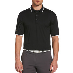 Jack Nicklaus Solid Textured Polo with Tipping