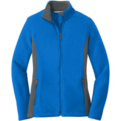 Port Authority® Ladies Colorblock Value Fleece Jacket
