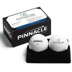 Pinnacle Standard 2-Ball Business Card Box