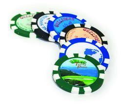 Resin Domed Poker Chip