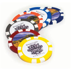 Decal Printed Poker Chip