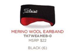 Titleist Merino Wool Earband