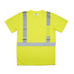 Premium ANSI Class 2 Birdseye Pocket T-shirt