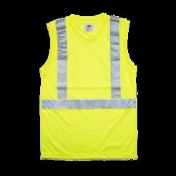 Lightweight Sleeveless Shirt with V-neck
