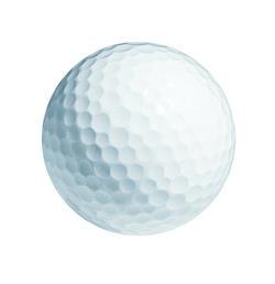 Bulk Generic White Golf Balls