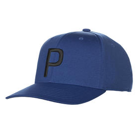 puma p 110 snapback cap - surf the web/black