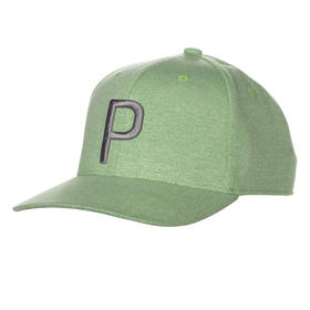 puma p 110 snapback cap - irish green/quiet shade