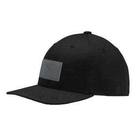 puma utility patch 110 cap - puma black