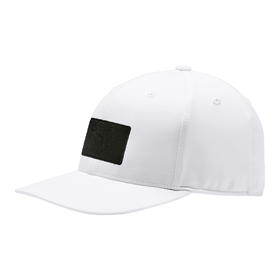 puma utility patch 110 cap - bright white