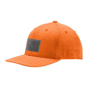puma utility patch 110 cap - vibrant orange
