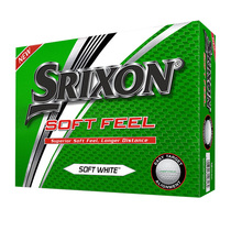 srixon soft feel - white