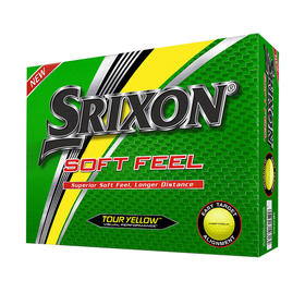 srixon® soft feel - yellow