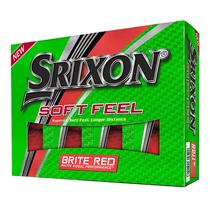 srixon soft feel brite - red