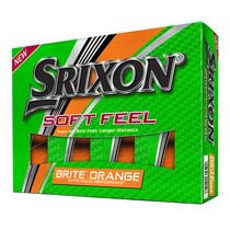 srixon soft feel brite - orange