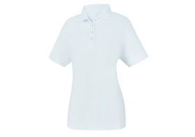 footjoy women's prodry performance solid interlock shirt - white