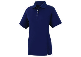 footjoy women's prodry performance solid interlock shirt - navy