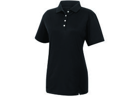 footjoy women's prodry performance solid interlock shirt - black