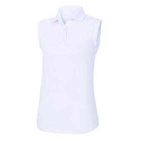 footjoy women's prodry performance sleeveless shirt - white