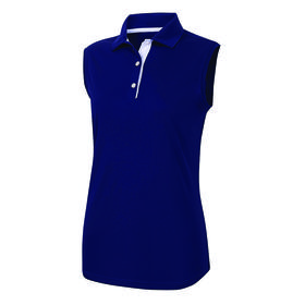 footjoy women's prodry performance sleeveless shirt - navy