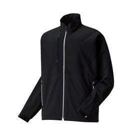 footjoy dryjoys tour lts rain jacket - black & white