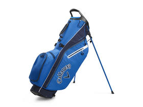 callaway fairway c stand bag double strap - royal/navy/white