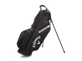 callaway fairway c stand bag single strap - black/silver/red