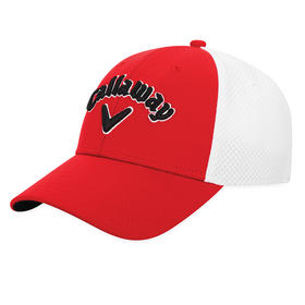 callaway mesh fitted - red/white/black - l/xl