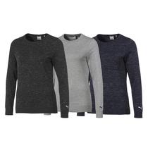 puma women's crewneck sweater