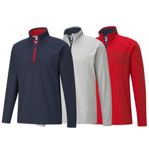 puma volition tried and true 1/4 zip
